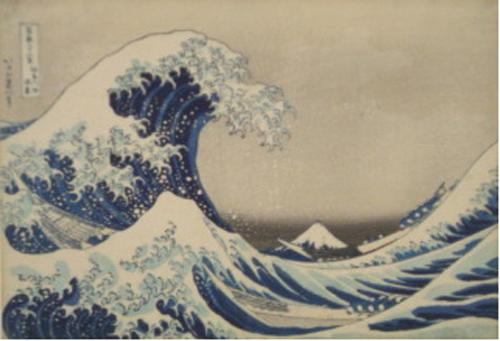 神奈川冲浪里