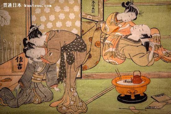 《青楼双偶》(Two Couples in a Brothel),铃木春信(Suzuki Harunobu),1769-1770年