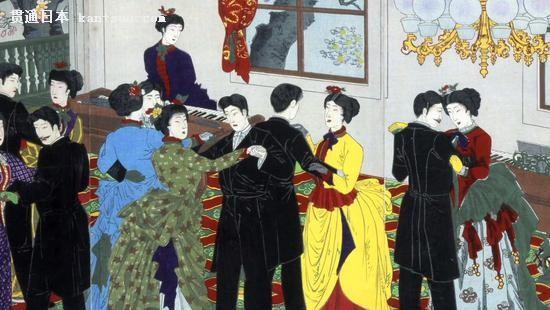 描述明治维新的浮世绘